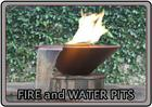 Fire and water don't have to be conflicting elements! Combine the wonder of a fountain with the majesty of a fire pit with one of Theme Designs Studios' combination units.