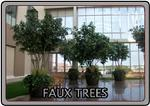 Hand crafted, realistic faux trees can save you a bundle and look amazing while they do it.