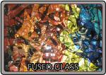 Fused glass pieces are the specialty of the Theme Designs Studios' top-of-the-line art glass studio.