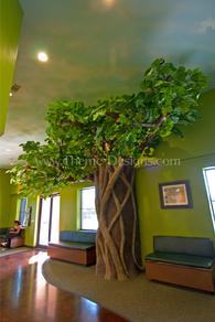 giant big custom tree